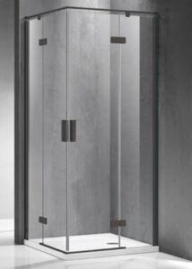 Zuhanykabin, Wellis Murano 90x90x195 cm szögletes WC00420