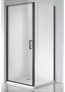 Zuhanykabin, Wellis Quadrum Black 90x90x190 WC00430