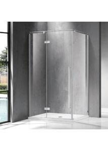 Wellis Sorrento Plus 90 nyílóajtós zuhanykabin 90x90 Balos Easy Clean bevonattal WC00499
