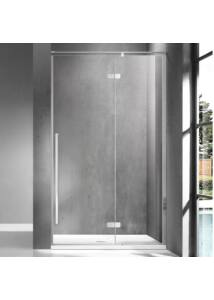 Wellis Sorrento 90 zuhanyfal Jobbos Easy Clean bevonattal WC00508