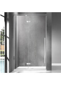 Wellis Sorrento 120 zuhanyfal Balos Easy Clean bevonattal WC00513