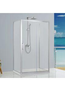 Wellis Premier fix oldalfal zuhanyfalhoz 90cm - Easy Clean bevonattal WC00518