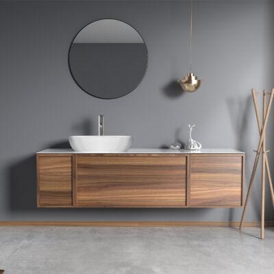 Wellis Tripoli komplett bútor tükör és mosdó nélkül