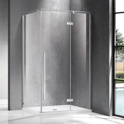 Wellis Sorrento Plus 140 zuhanykabin 140x90 Jobbos Easy Clean bevonattal WC00506
