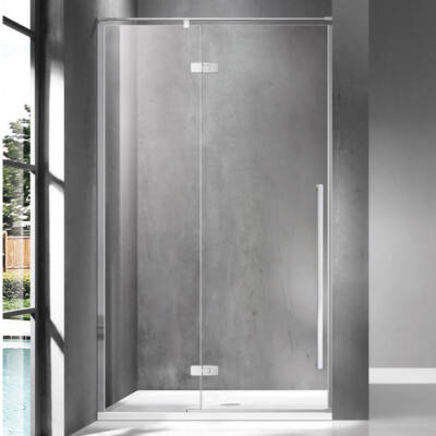 Wellis Sorrento 100 zuhanyfal Balos Easy Clean bevonattal WC00509