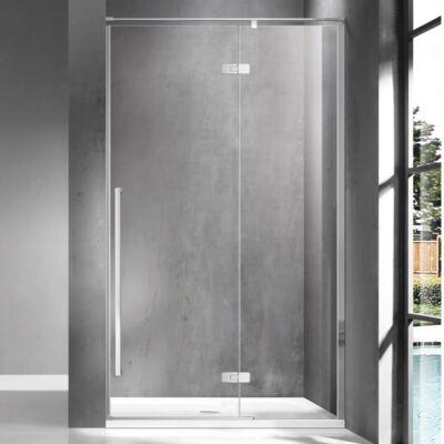 Wellis Sorrento 120 zuhanyfal Jobbos Easy Clean bevonattal WC00514