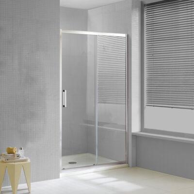 Wellis Premier 110 tolóajtós zuhanyfal Easy Clean bevonattal WC00516