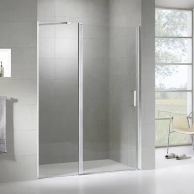 Wellis Pure 90 nyílóajtós zuhanyfal Easy Clean bevonattal WC00519