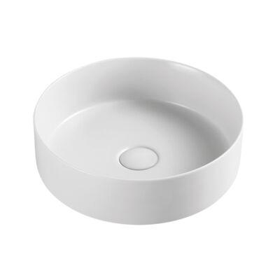 Wellis Rose matt fehér pultra építhető porcelán mosdó WF00085