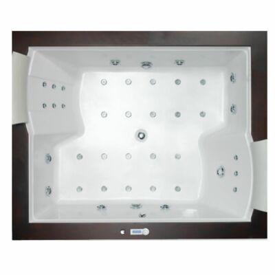 Hidromasszázs kád, Wellis Nera Maxi E-Drive Touch 185 csaptelep nélkül WK00009-6